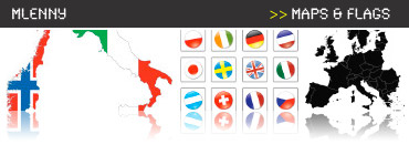 Maps, Flags, Illustrations and Vectors Collection