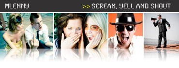 People Shout - Scream Photo Collection