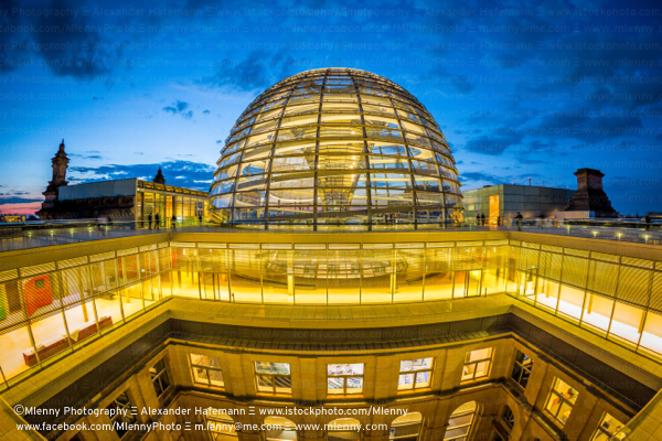 The Reichstag Dome,Berlin,Germany