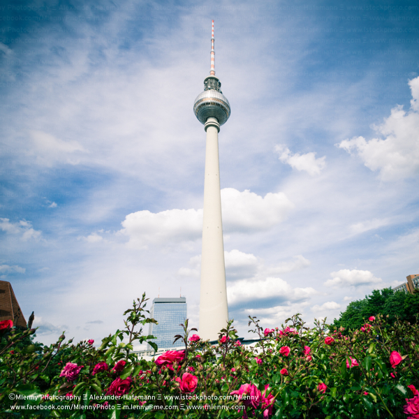 Alexanderplatz Television Tower Fernsehturm Berlin, Germany