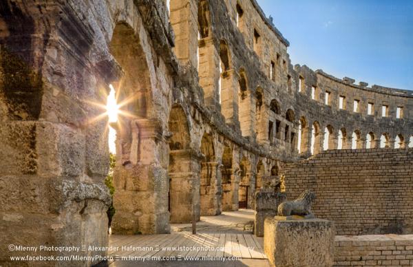 Roman Amphitheater Pula, Croatia