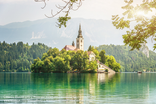 Santa Maria Church, Lake Bled, Slovenia