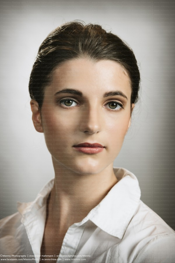 Young Woman, Portrait