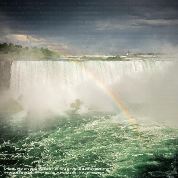 Niagara Falls Rainbow, Canada