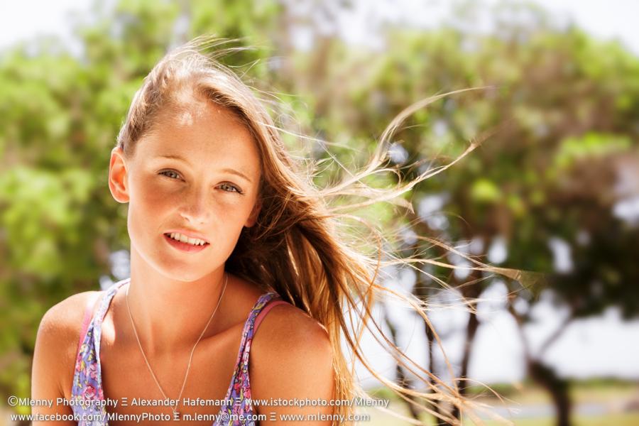 Summer Girl, Portrait