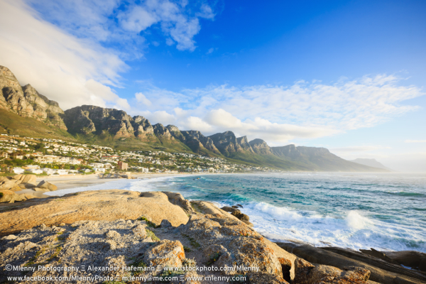 Camps Bay Beach Table Mountain Cape Town South Africa