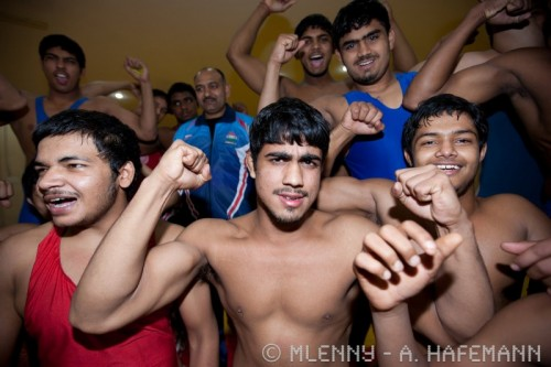 Indian Wrestlers New Dehli