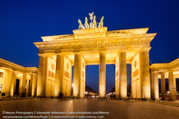 Brandenburg Gate - Brandenburger Tor, Berlin, Germany