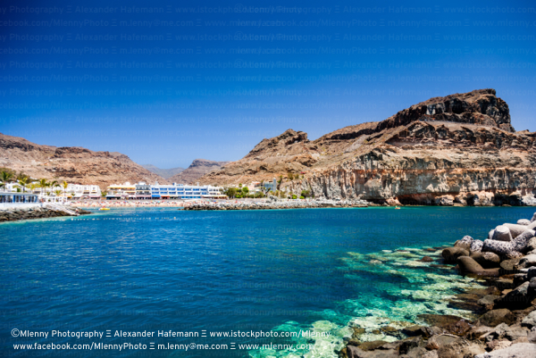 Puerto de Mogan Beach Gran Canaria,Canary Islands