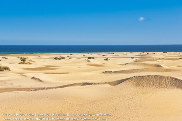 Maspalomas Dunes, Playa de Ingles, Gran Canaria, Canary Islands
