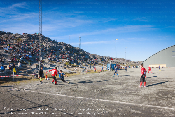 Greenland Soccer Championship Semi-Final in Nuuk Godthab