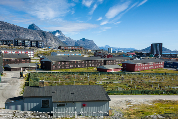 Godthab in Summer,Nuuk,Greenland