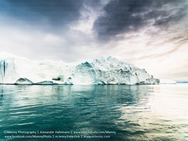 Iceberg in Arctic Sea, Greenland