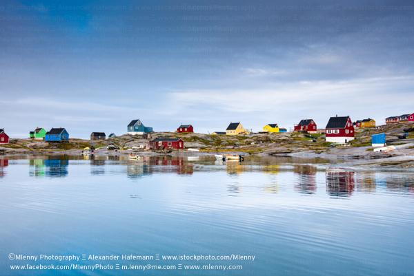 Rodebay Oqaatsut Settlement, Greenland