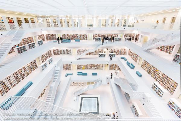 Modern Public Library, Stuttgart, Germany