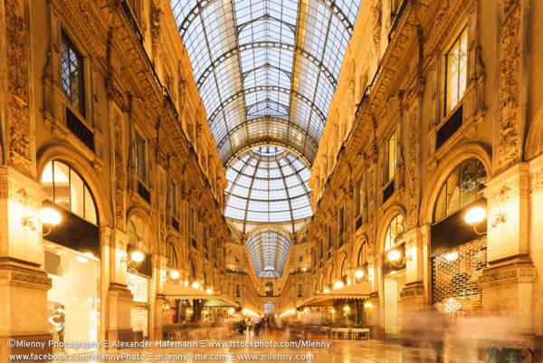 Galleria Vittorio Emanuele II Milan, Italy