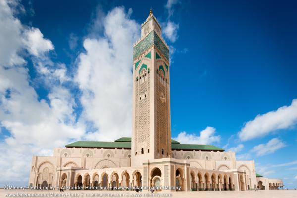 Casablanca Hassan II Mosque Morocco