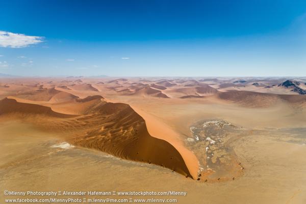 Namib Desert Aerial View, Namibia, Africa