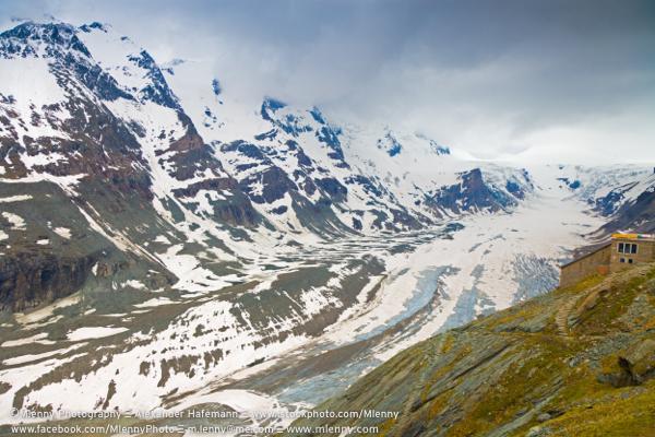 Großglockner Glacier Pasterze European Alps, Austria