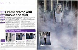 Photoshop Creative Create Drama with Smoke and Mist Tutorial 54-55
