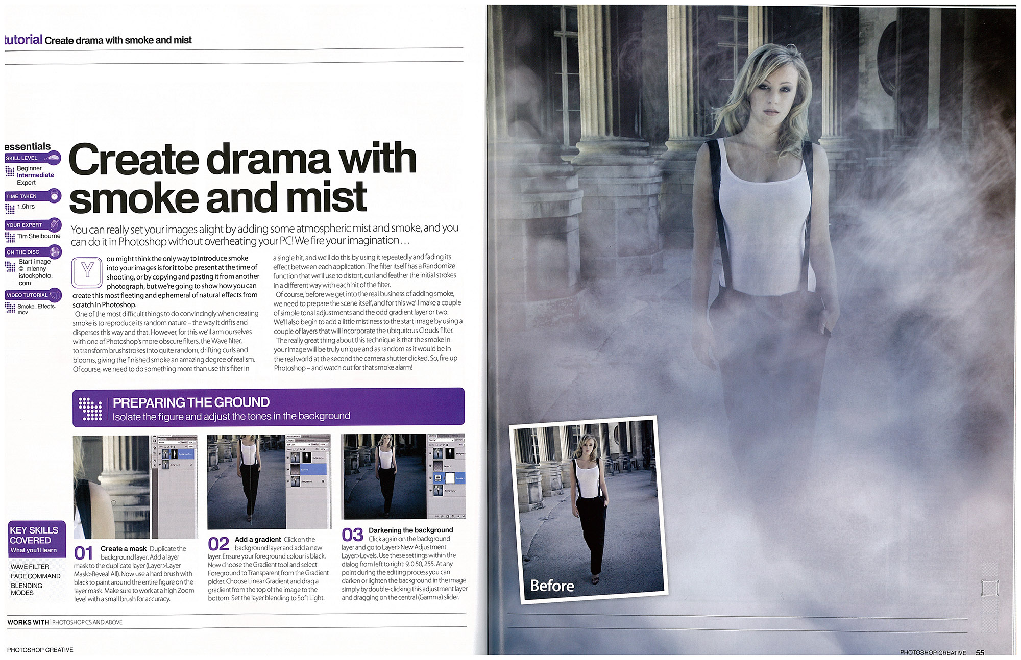 Photoshop tutorial create drama with smoke and mist mlenny photography photoshop creative create drama with smoke and mist tutorial 54 55 baditri Choice Image