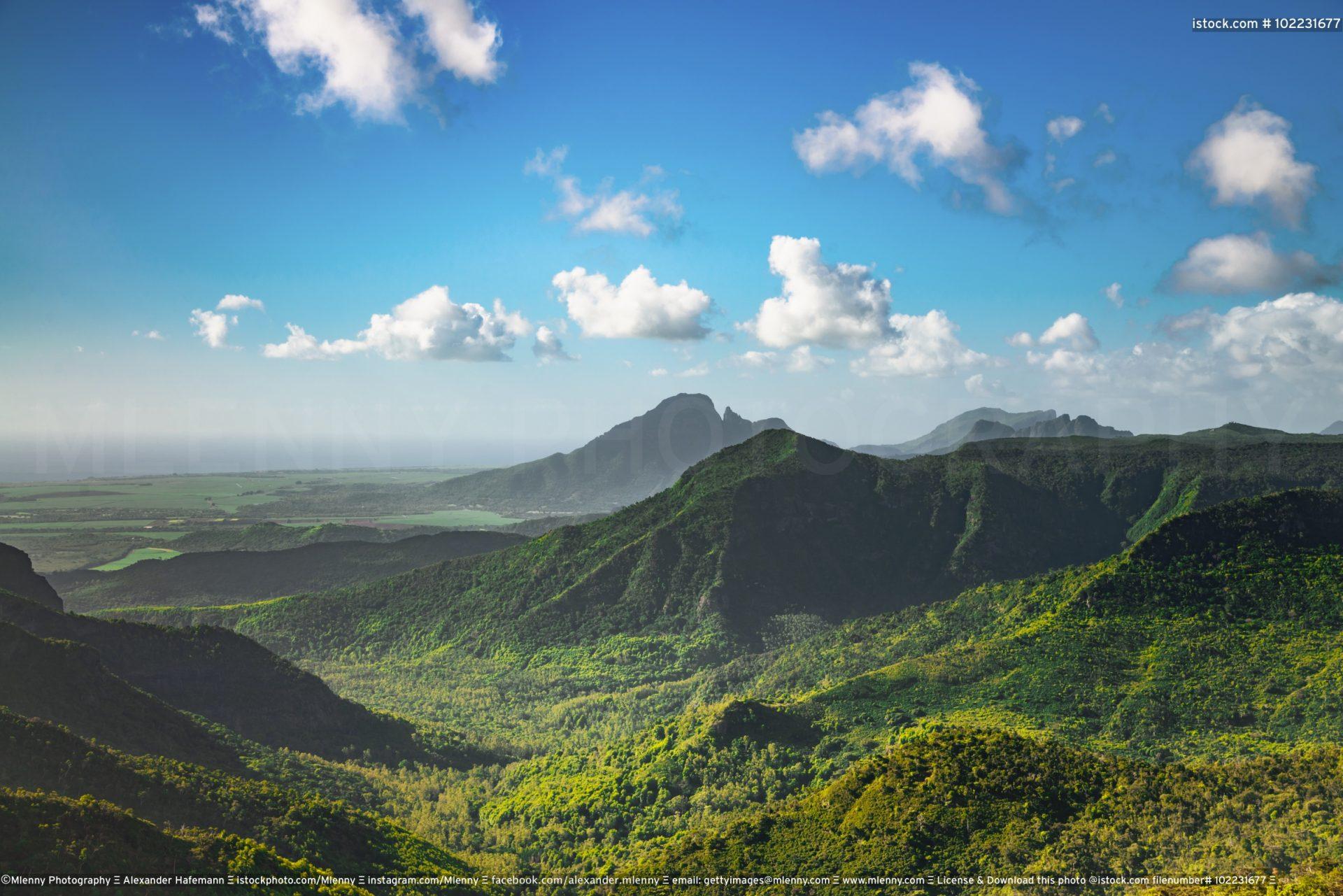 Black River Gorges National Park Mauritius Island