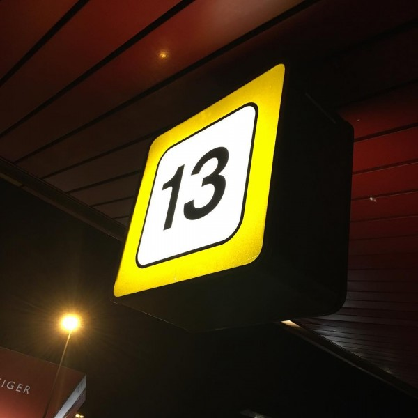 Lucky number gate 13