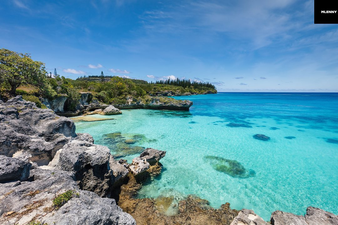 Tadine Bay on Maré Island - Nengone, Loyality Islands, New Caledonia