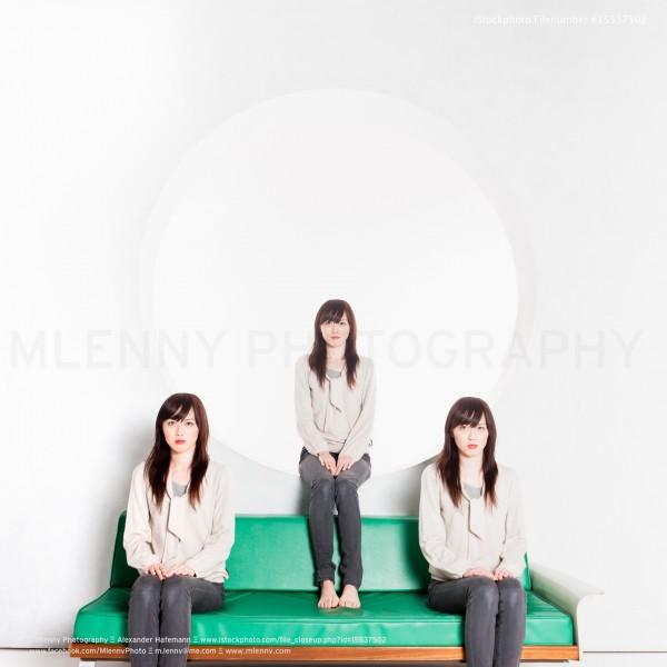 Clone Triplets Japanese Women Portrait