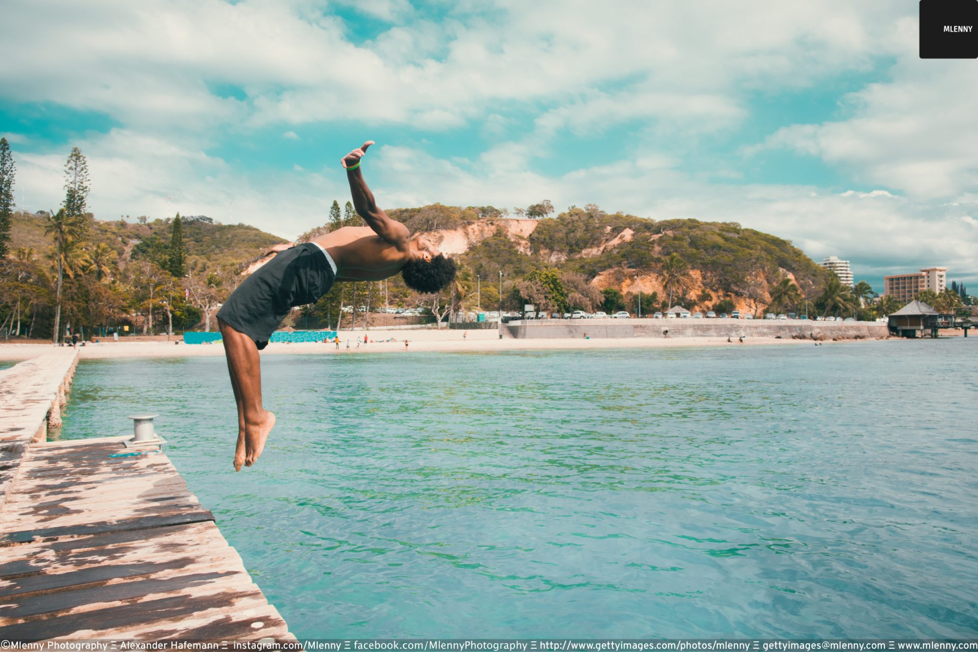 Backflipping Islander Noumea, New Caledonia