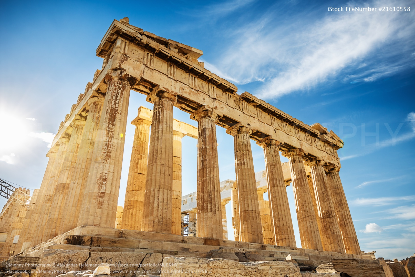 Parthenon Acropolis, Athens, Greece