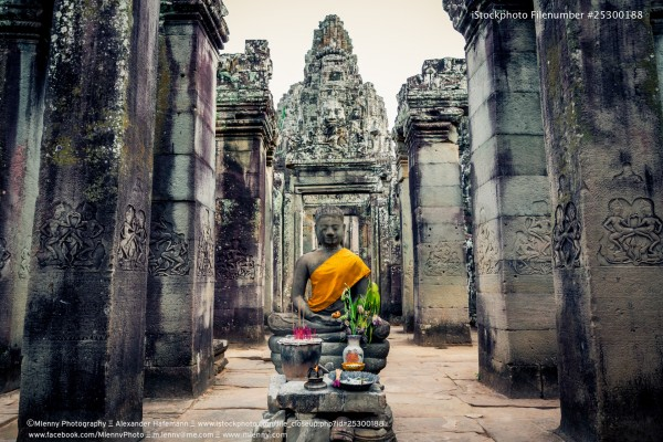 Buddha Angkor Thom Cambodia