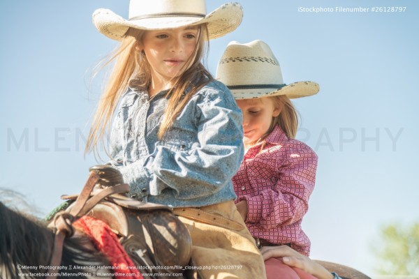 Young Cowgirls