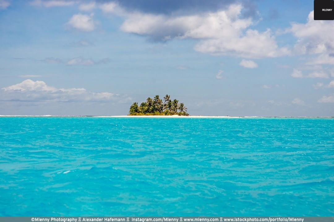 Lonely Islet at Cocos (Keeling) Islands