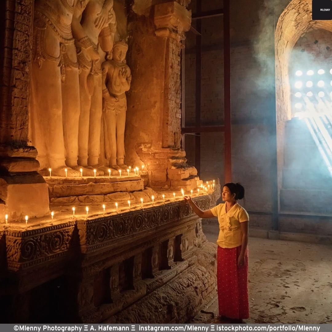 Silence, Bagan. @visit.myanmar
