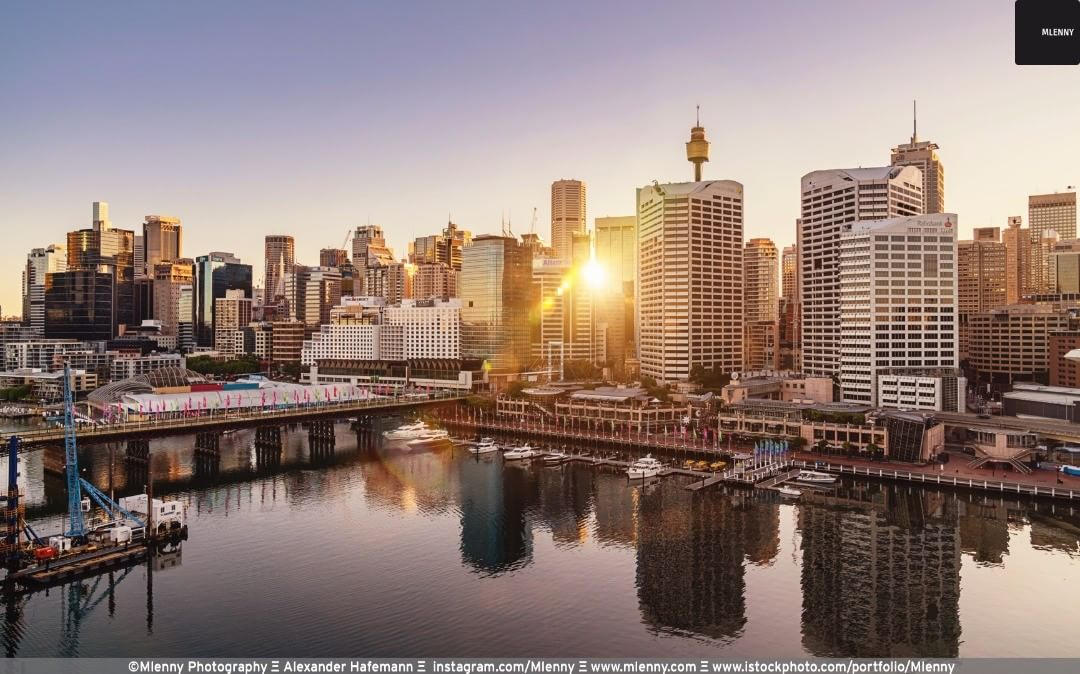 Sunrise Darling Harbour Sydney, Australia