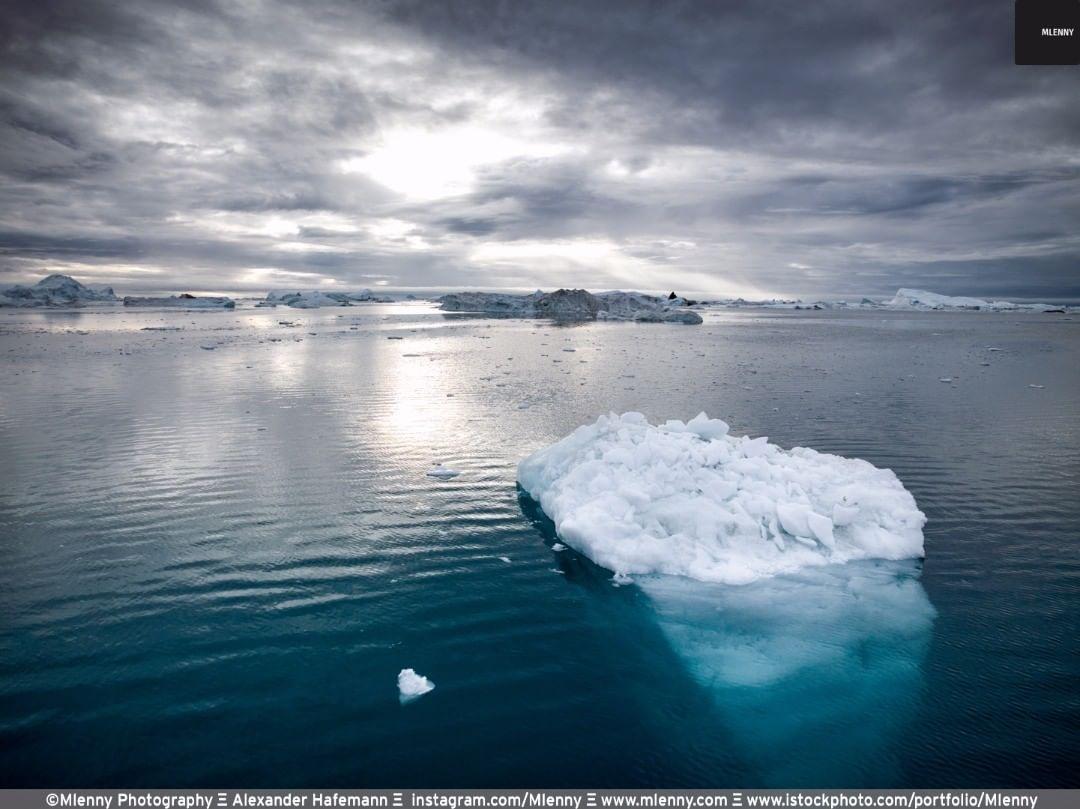 Arctic Iceberg, Greenland Twilight
