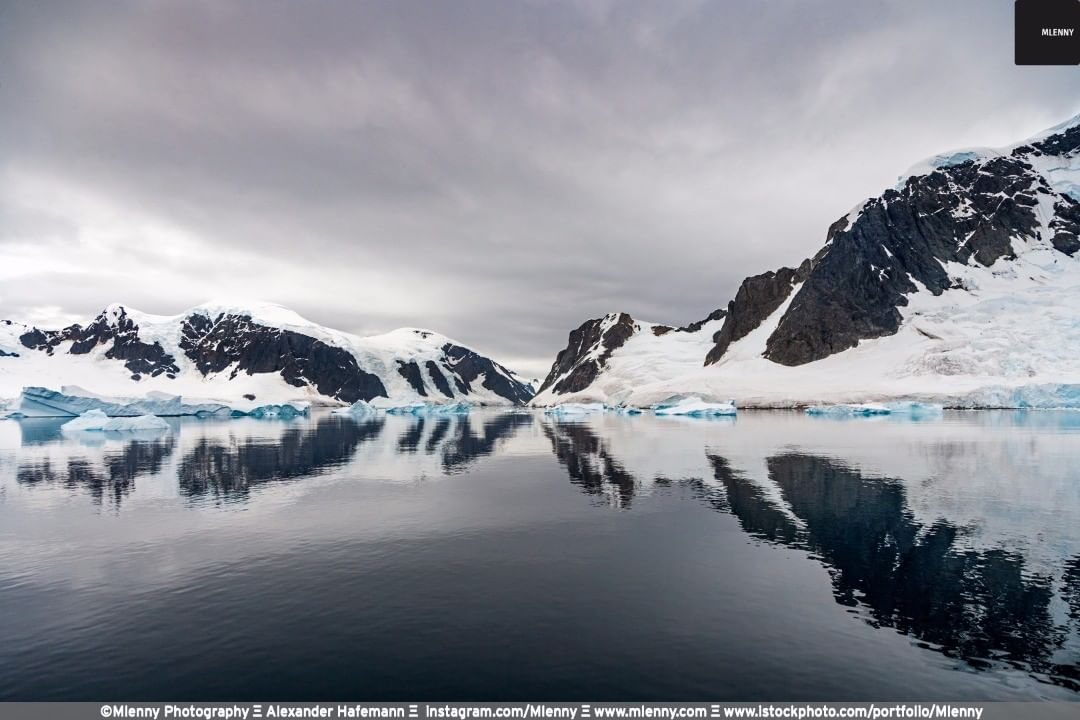 Neumayer Channel Reflections, Antarctica