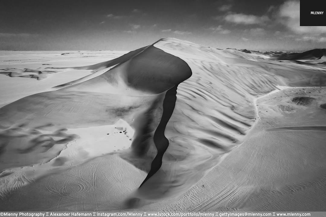 Walvis Bay Desert Dune, Namibia