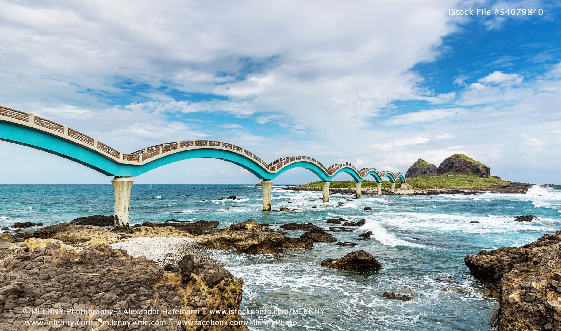 Sansiantai Dragon Bridge Taitung, Taiwan