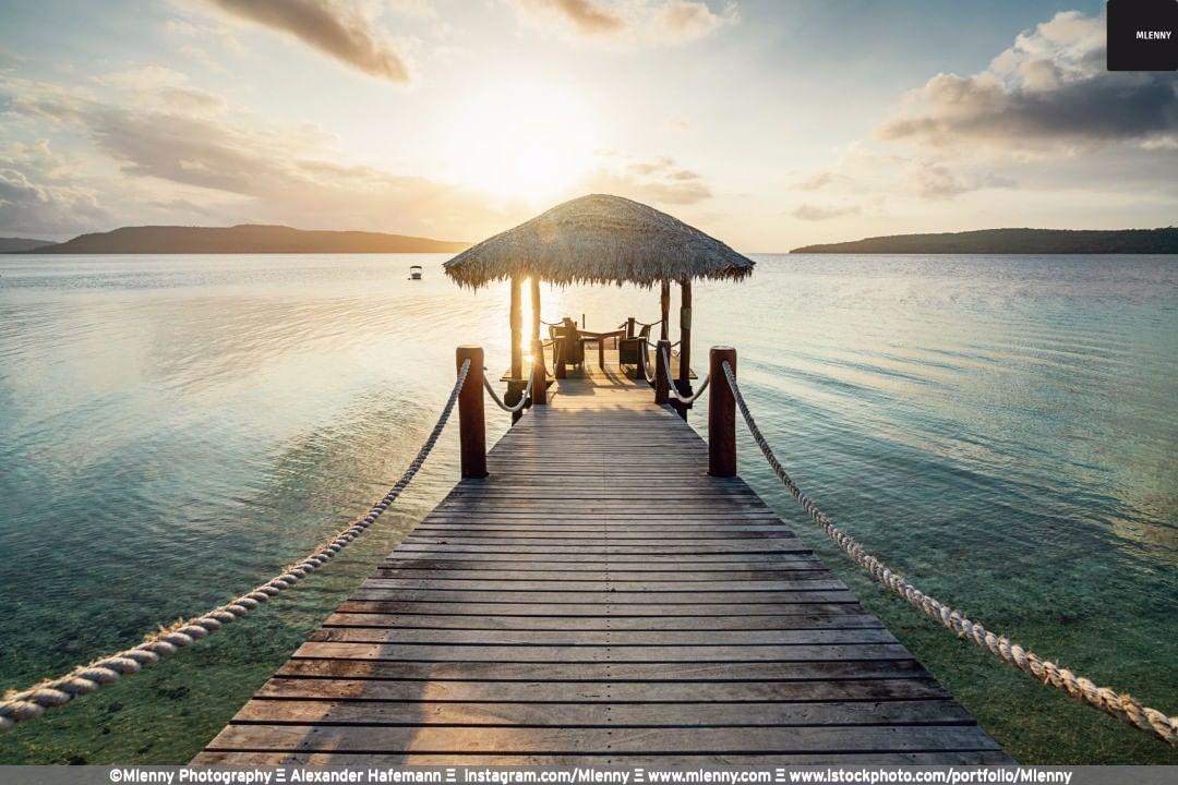Vanuatu Sunset, Efate Island, Port Havannah