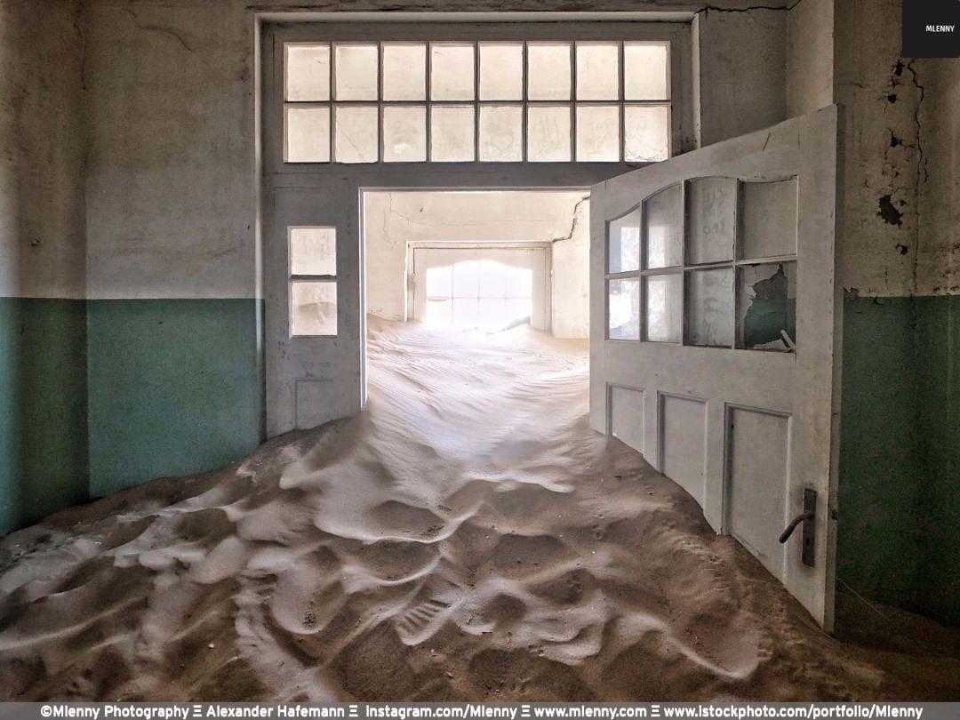 Lost Hospital - Ghost Town, Lüderitz, Namibia