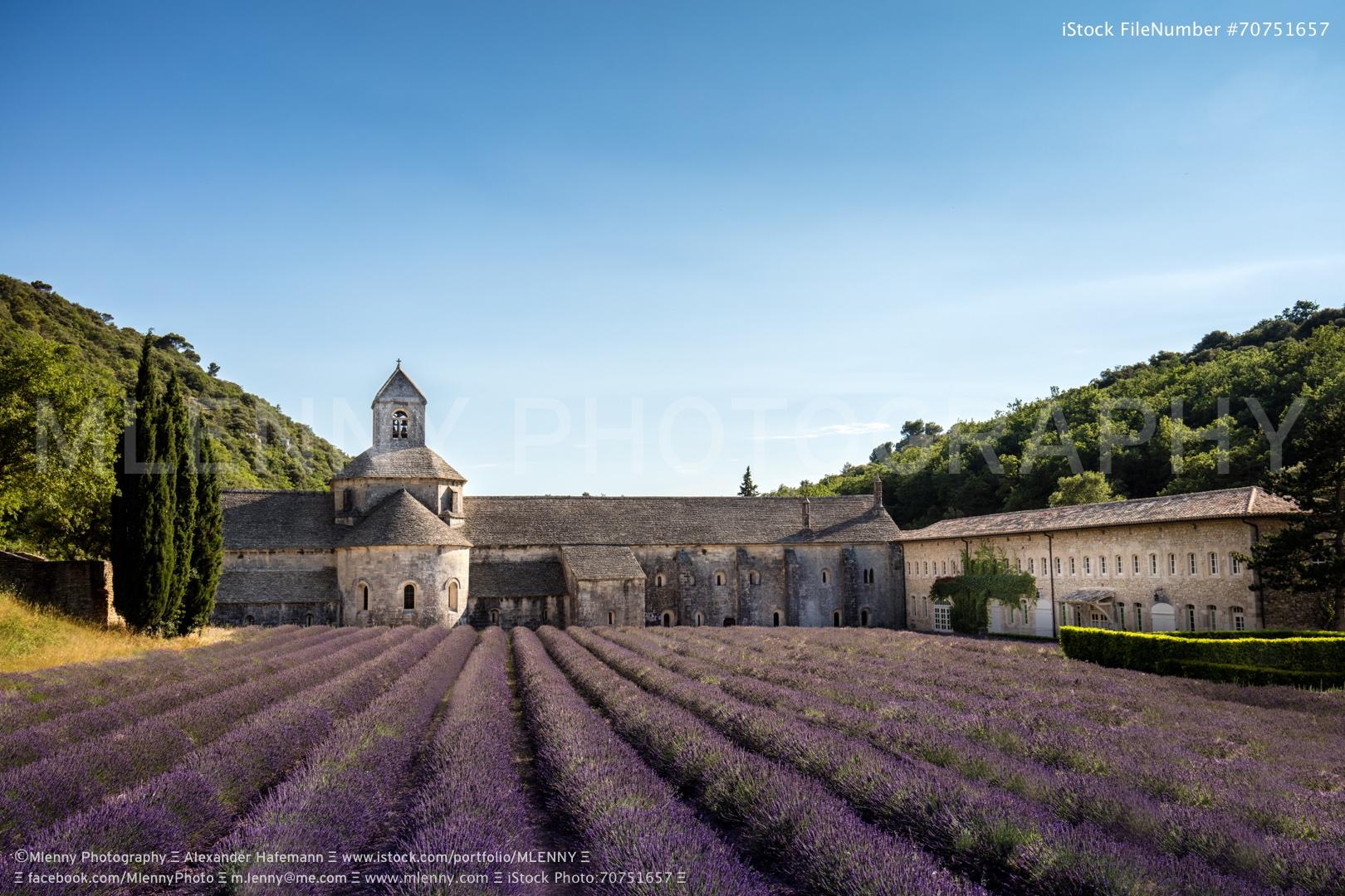 Abbaye de Senanque Provence France