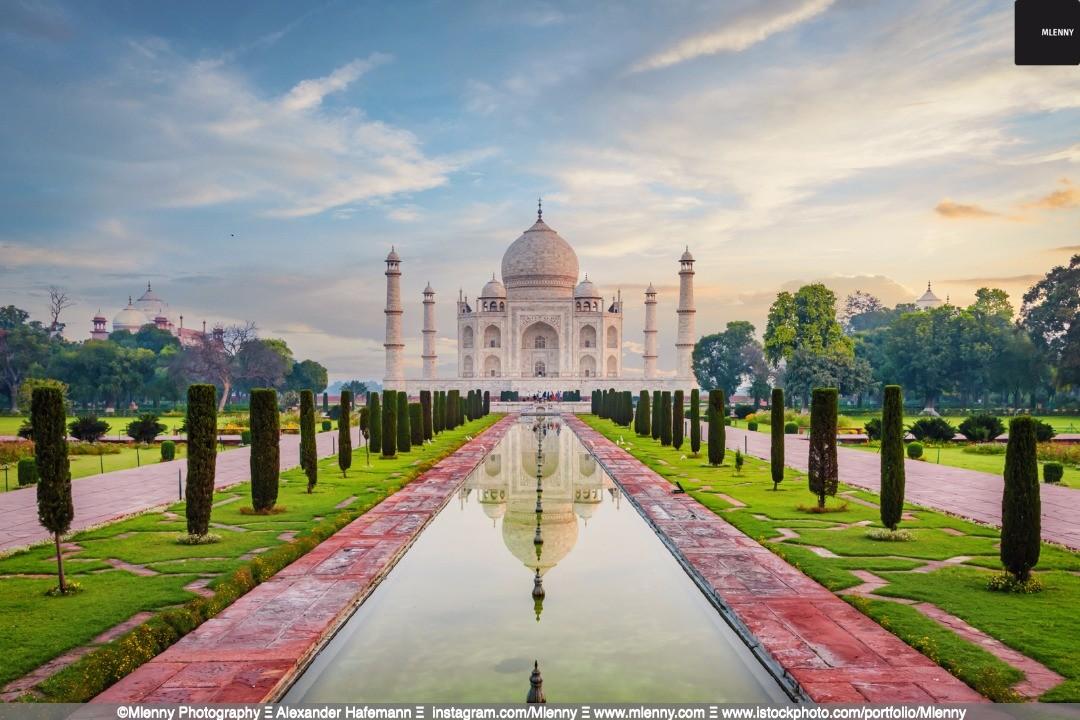 Taj Mahal Moody Twilight, Agra, India