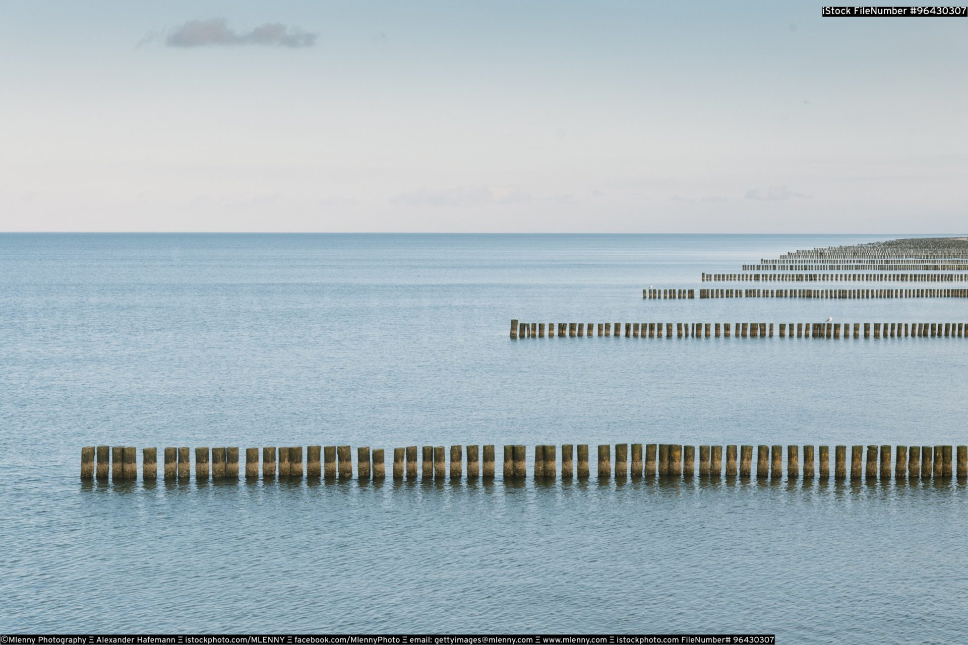 Baltic Sea Parallels Zingst Germany