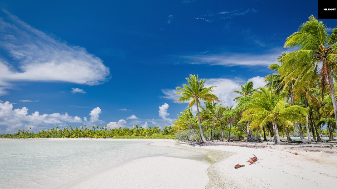 Natural Dream Beach Teahatea, Fakarava Atoll, Tuamotu Islands, French Polynesia