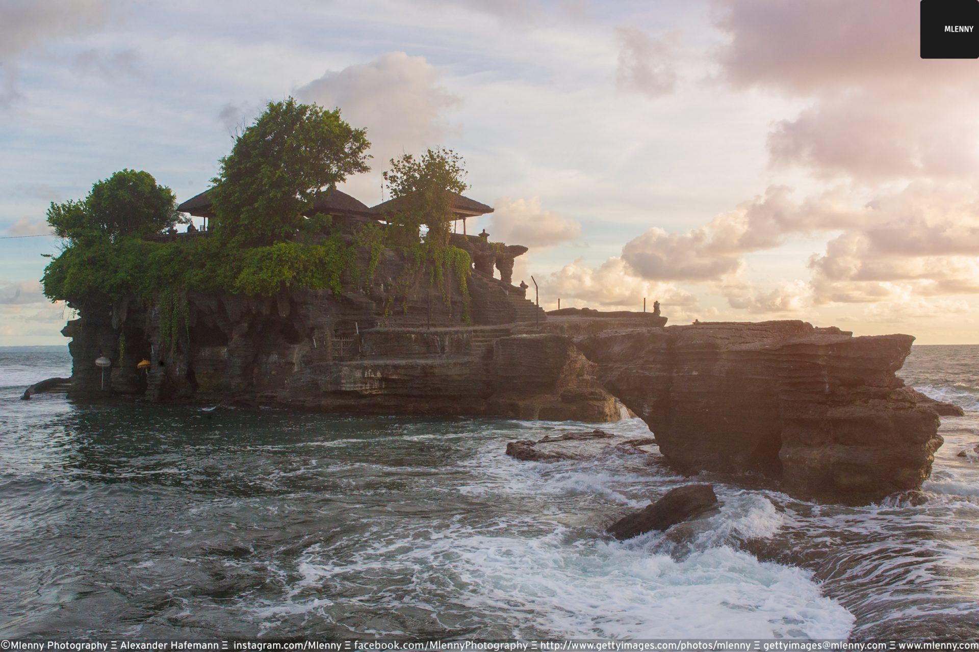 Tanah Lot Sunset, Bali, Indonesia